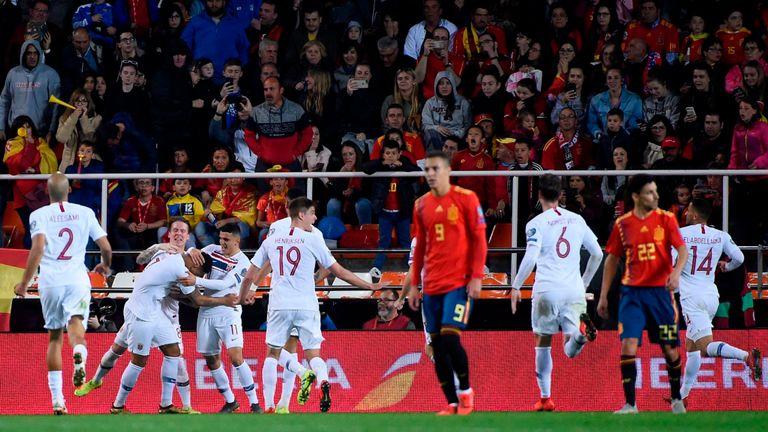 Норвегия - Испания