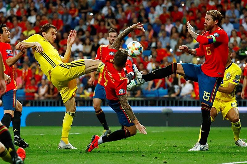 Швеция - Испания