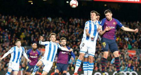Реал Сосиедад - Барселона